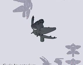 Space Combat Frigate Hawksbill 3D printable model