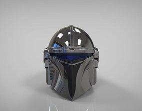 Mandalorian Silverhawks helmet mashup 3D printable model