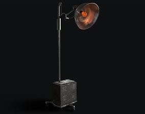 3D model Retro Medical Floor Lamp