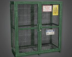 MLT - Military Locker 06 - PBR Game Ready 3D model