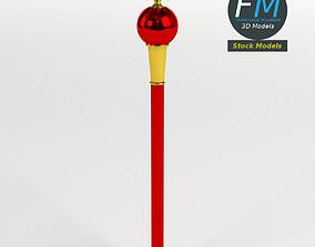3D model Heraldic scepter