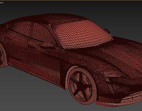 sport Porsche Taycan 3D model