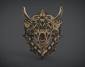 Dark Horse Shield 3D model