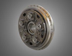 PW GTF Engine Gearbox 3D model