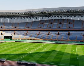 Jinan Olympic Sports Center Stadium 3D model