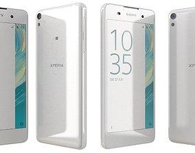 3D model Sony Xperia E5 White