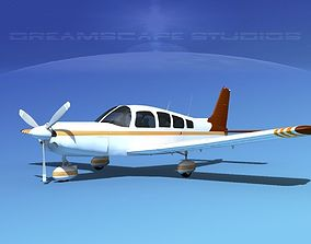Piper Cherokee Six 260 V10 3D model