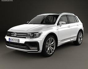 3D model Volkswagen Tiguan R-line 2015