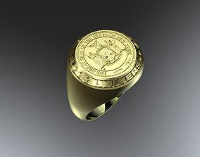 3D print model Graduation ring