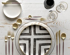 Table Setting 08 3D up