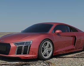 3D model Audi R8 V10 Coupe
