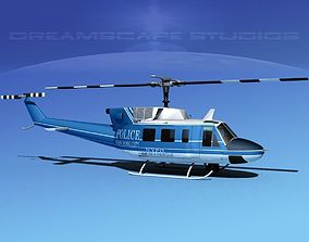 3D Bell 212 New York Police
