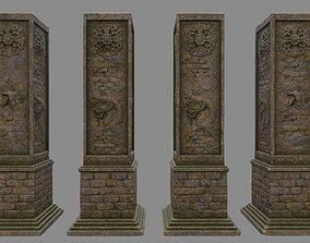 3D model pillar 11