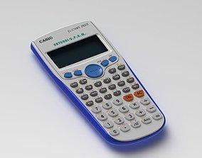 3D model Casio Calculator