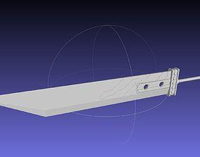 Final Fantasy Buster Sword Printable Replica