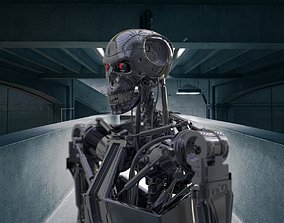 3D Terminator city