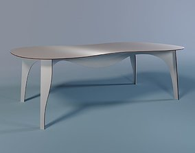 No-waste table from Moroso 3D model
