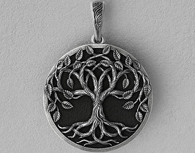 Tree of life yggdrasills necklace 2 options 3D print model