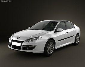 3D model Renault Laguna 2011