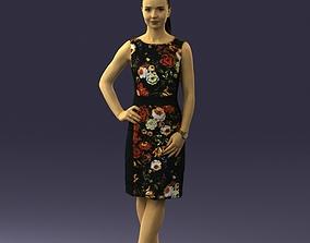 beautiful girl 0318 3D print model figurines