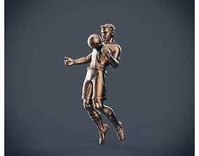 Soccer player 3D print model