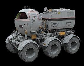 STAR COPS MOON ROVER 3D model