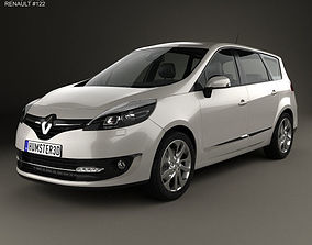 3D model Renault Grand Scenic 2014