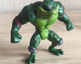 3D print model Battle Toads Rash