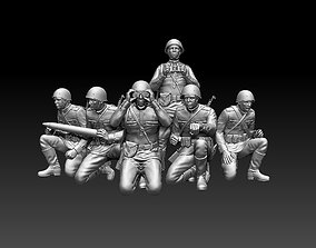 ussr soldiers 3D printable model