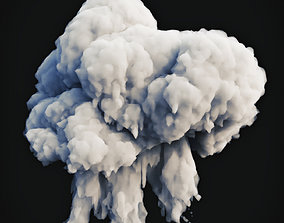 Smoke Explosion 5 3D model