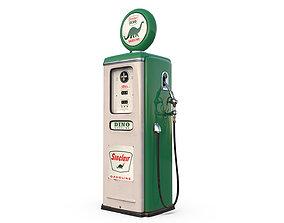Vintage SINCLAR Gas Pump 1948 3D