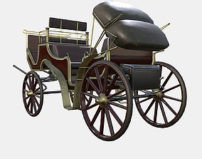 3D model Victorian Carriage