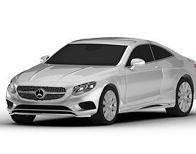 3D Mercedes-Benz S Class Coupe