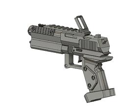 trigger 3D printable model Borderlands DAHl Gun