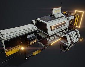 Freighter 01 3D asset