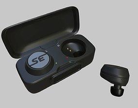 3D asset TWS headphones True wireless
