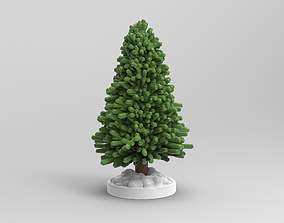 Christmas tree for 3d printing
