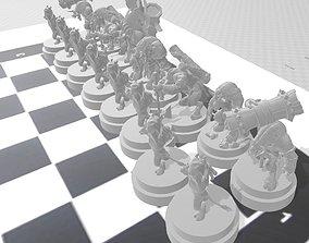 tauren ajedrez 3D printable model