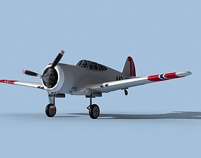 3D model Curtiss H-75C Mohawk V17 Norway