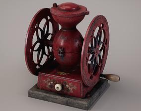 3D asset Vintage Coffee Grinder