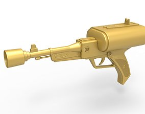 3D printable model Laser pistol of Golden Man from Lost 4