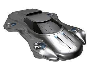Air machine hover car 3D model