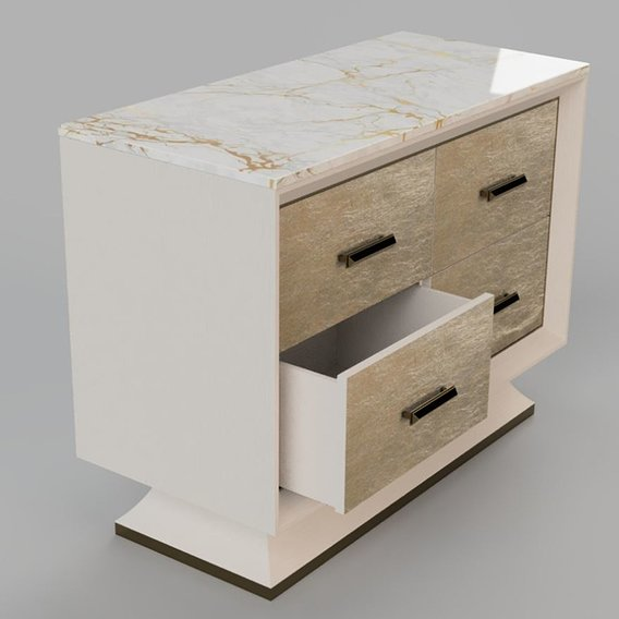 Credenza  with 4 drawers
