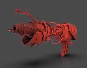 Steampunk Portal Gun 3D printable model