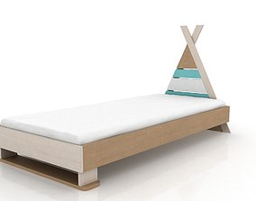 3D model Apache Junior Bed 80x180
