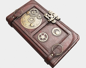 3D model Steampunk Book