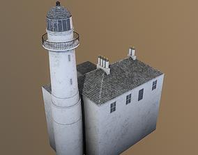 3D asset Toward Point Lighthouse