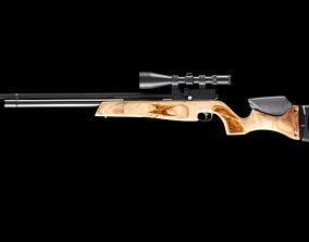 Assault Rifle 3D animated