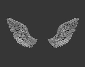 3D printable model Sad angel wings