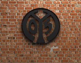 FSV Mainz 05 Logo 3D model